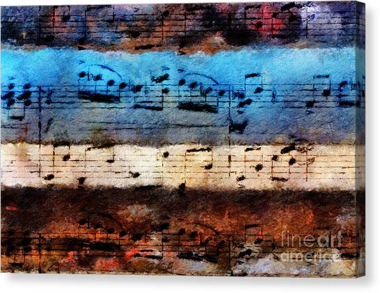 Rustic Rondo Canvas Print
