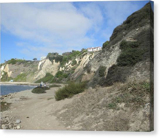 Rustic Shoreline Canvas Print