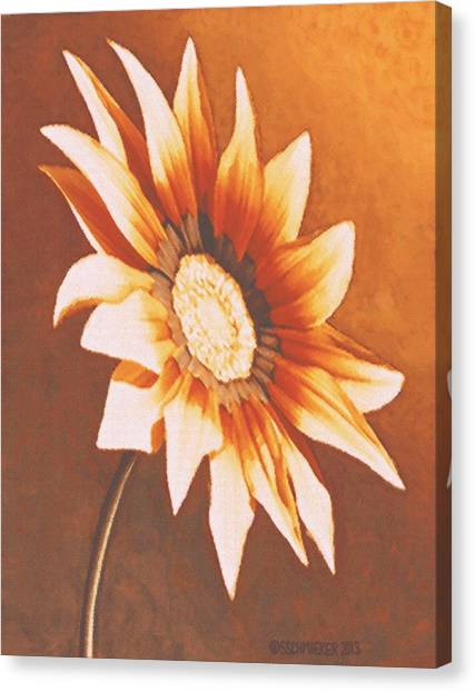 Rusty Gazania Canvas Print