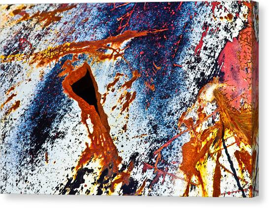 Rusty Metal Canvas Print by Craig Brown