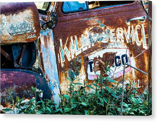 Rusty Truck #1 Canvas Print