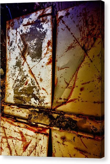 Rusty X Canvas Print