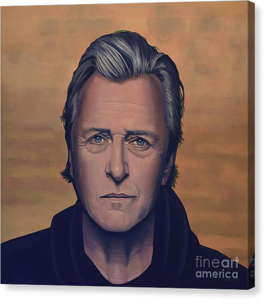Shotguns Canvas Print - Rutger Hauer by Paul Meijering