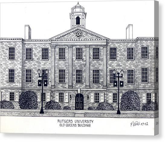 Rutgers University Canvas Print