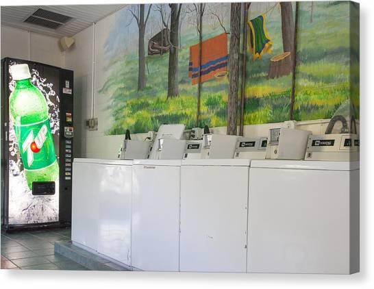 Rutledge Lake Rv Park Laundry Facilities Asheville Nc Canvas Print