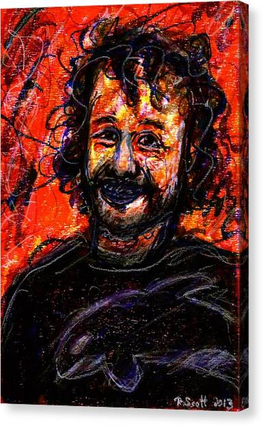 Ryan - Dark Canvas Print