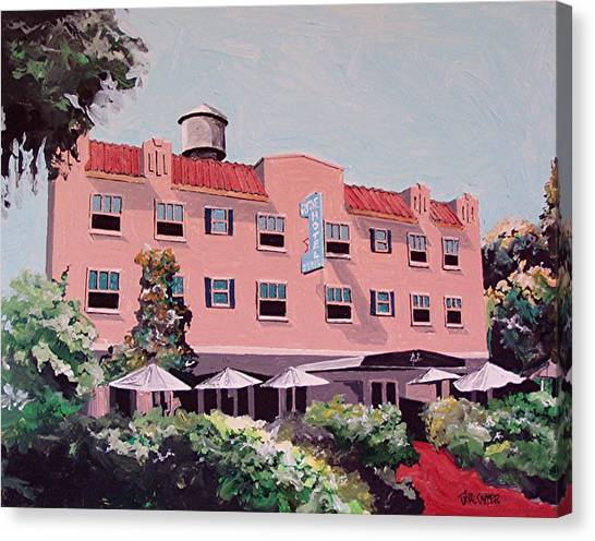 Ryde Hotel Canvas Print by Paul Guyer
