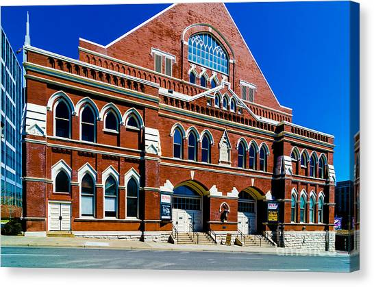 Ryman Auditorium  Canvas Print
