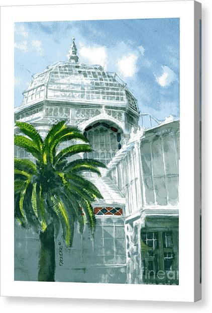 Sf Conservatory Canvas Print