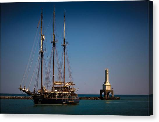 s/v Peacemaker II Canvas Print