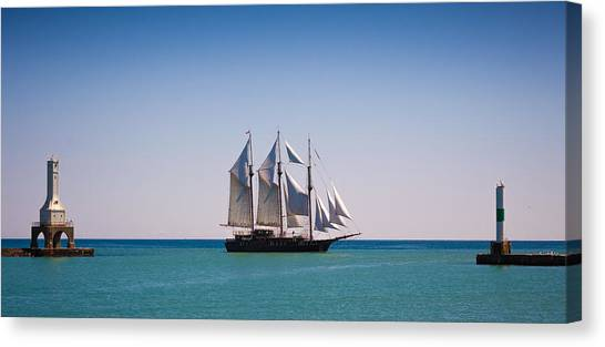 s/v Peacemaker Opening Canvas Print