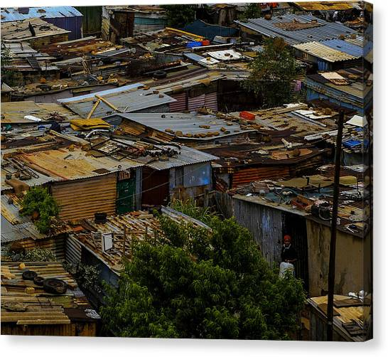 Sa Shanties Canvas Print