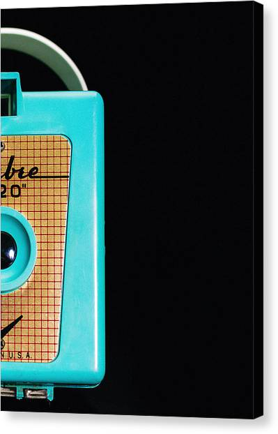 Retro Canvas Print - Sabre 620 Camera by Jon Woodhams