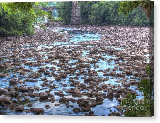 Sacandaga River Canvas Print