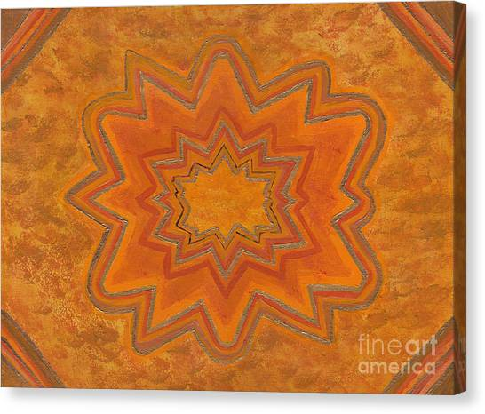 Sacral Flower Canvas Print