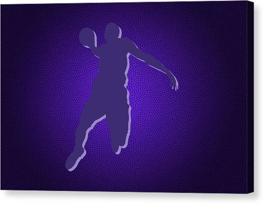 Sacramento Kings Canvas Print - Sacramento Kings Rudy Gay by Joe Hamilton