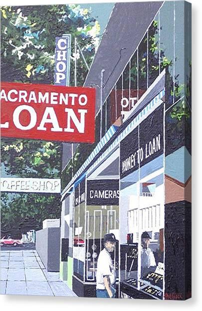 Sacramento Loan Canvas Print by Paul Guyer