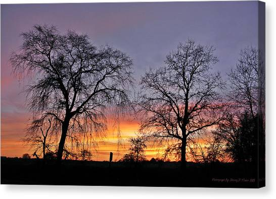 Sacramento Sunset Canvas Print