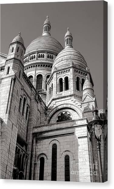 Byzantine Art Canvas Print - Sacre Coeur Architecture  by Olivier Le Queinec