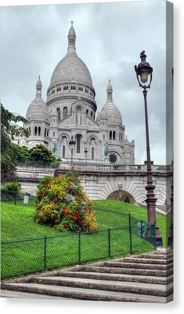 Sacre Coeur Cathedral Canvas Print by Ioan Panaite