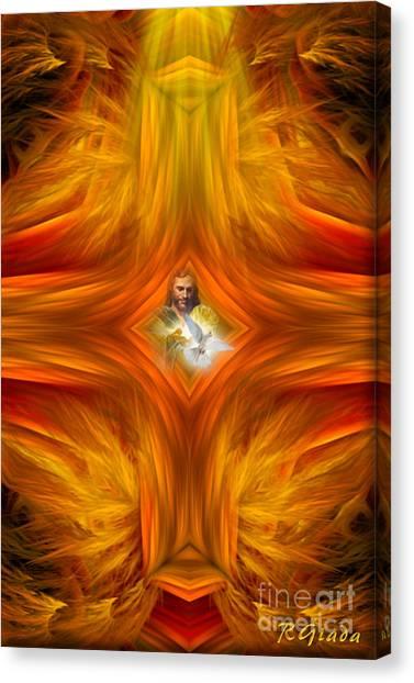Sacred Cross Canvas Print