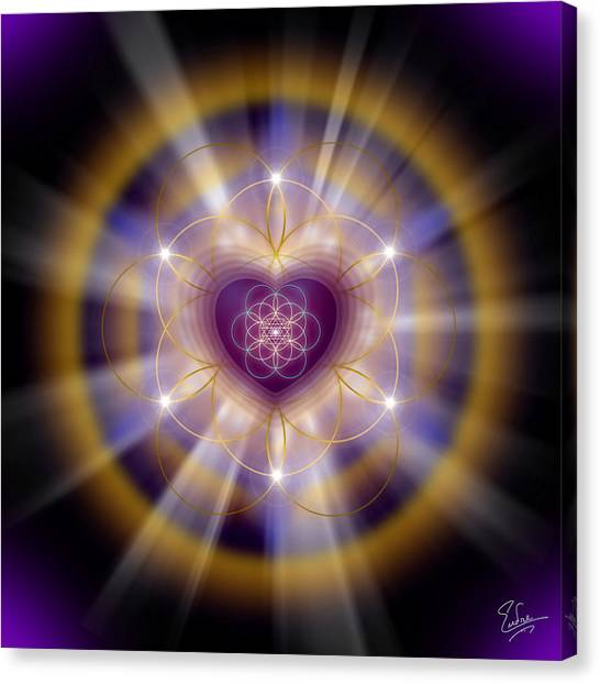 Sacred Geometry 204 Canvas Print
