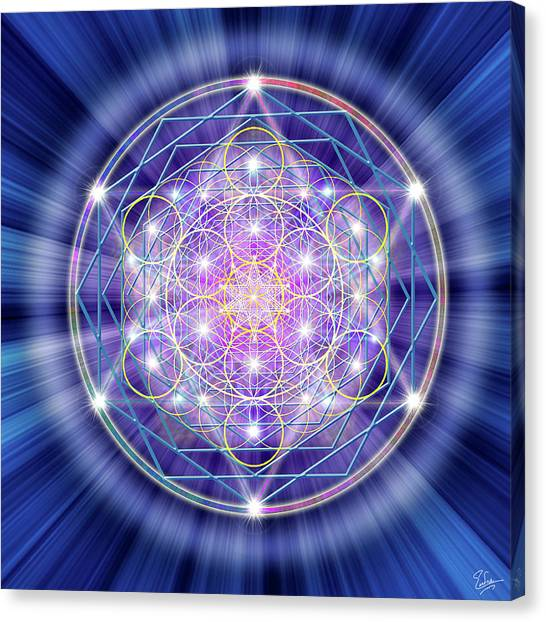 Sacred Geometry 46 Canvas Print