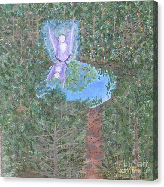 Sacred Oasis Canvas Print