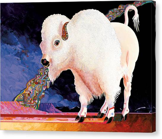 Sacred Spirit Canvas Print by Bob Coonts