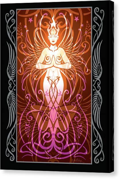 Celtic Art Canvas Print - Sacred State V.2 by Cristina McAllister