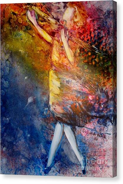 Sacrifice Of Praise Canvas Print
