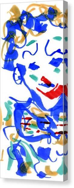 Sad Clowns II Canvas Print