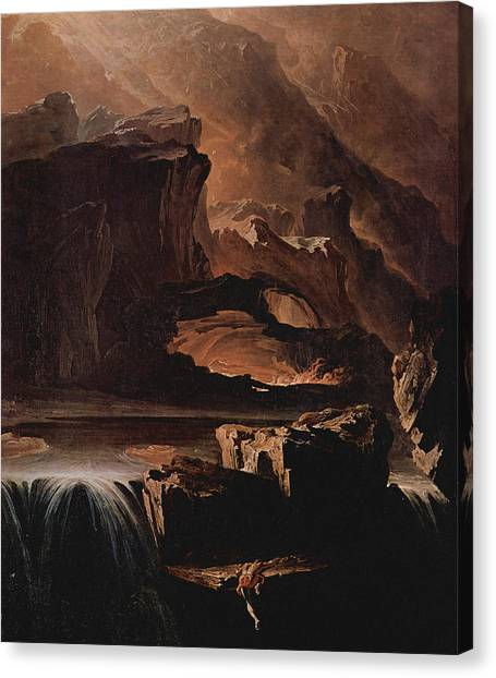 Sadak And The Waters Of Oblivion  Canvas Print