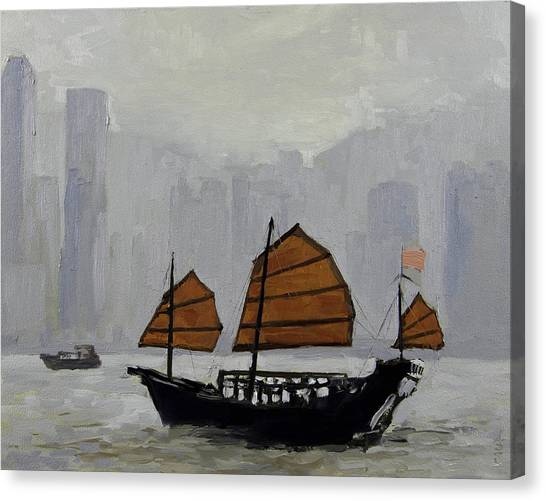 Safe Harbor Canvas Print by Anthony Sell