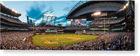 Seattle Mariners Canvas Print - Safeco Field by Rich Sowder