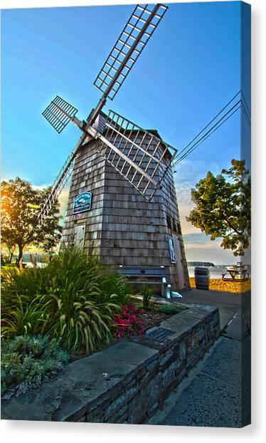 Sag Harbor Windmill Canvas Print