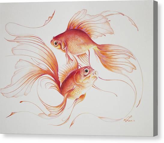 Sagaku Canvas Print