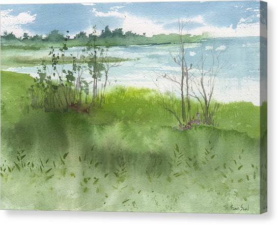 Saginaw Bay 7-26-13 Canvas Print
