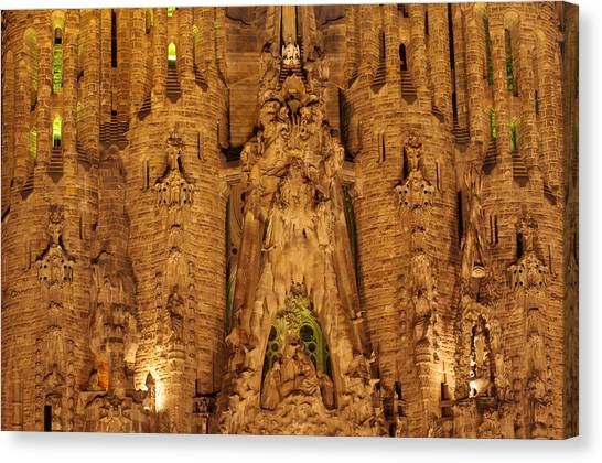 Sagrada Familia Canvas Print by Ioan Panaite