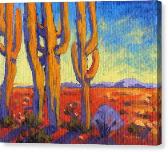 Saguaro 2 Canvas Print