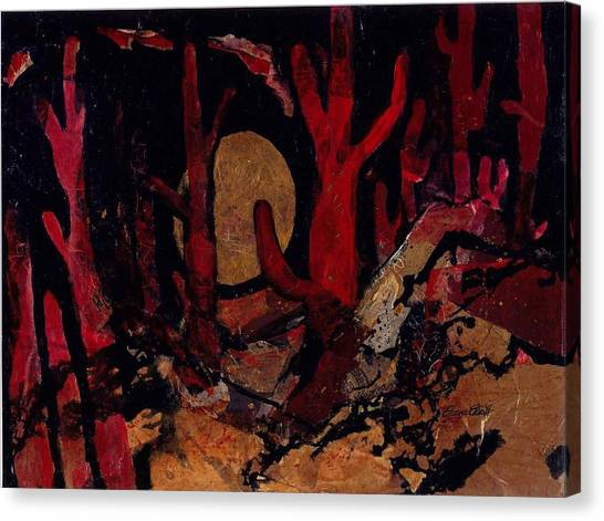 Saguaro Sonata Canvas Print