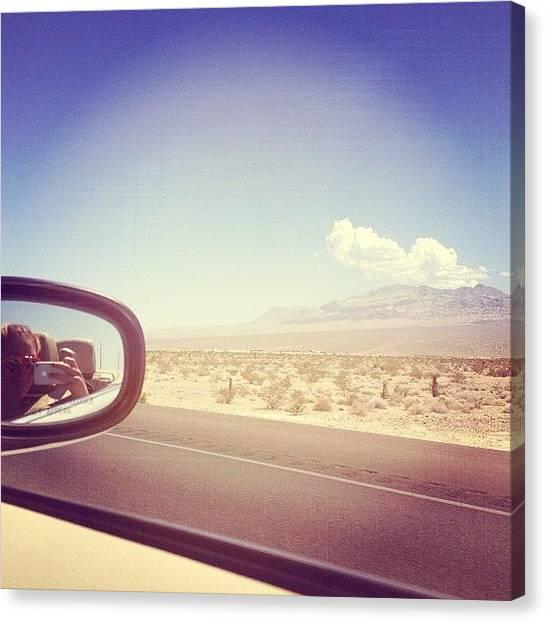 Sahara Desert Canvas Print - #sahara #desert #driving 💗 by Roxanne Soko