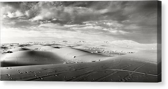 Sahara Desert Canvas Print - Sahara Desert Landscape, Morocco by Panoramic Images