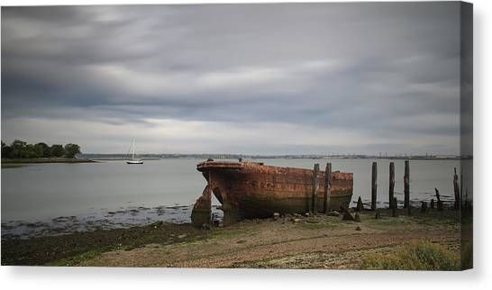 Sail Away Canvas Print by Nigel Jones