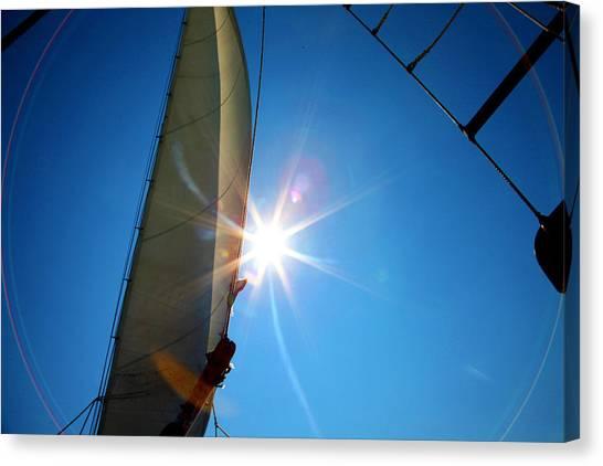 Sail Shine By Jan Marvin Studios Canvas Print