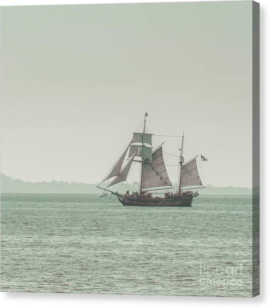 Boat Canvas Print - Sail Ship 2 by Lucid Mood