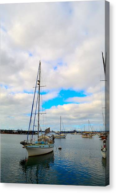 Sail With Me Canvas Print