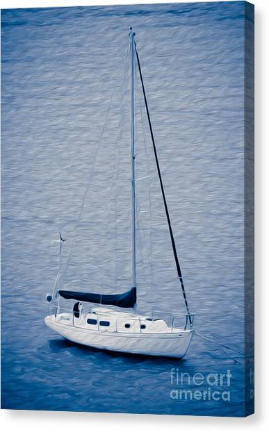 Sailboat Adventure Canvas Print