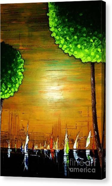 Sailin Away Again Canvas Print
