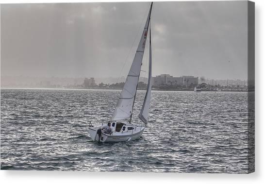 Sailing Bliss  Canvas Print